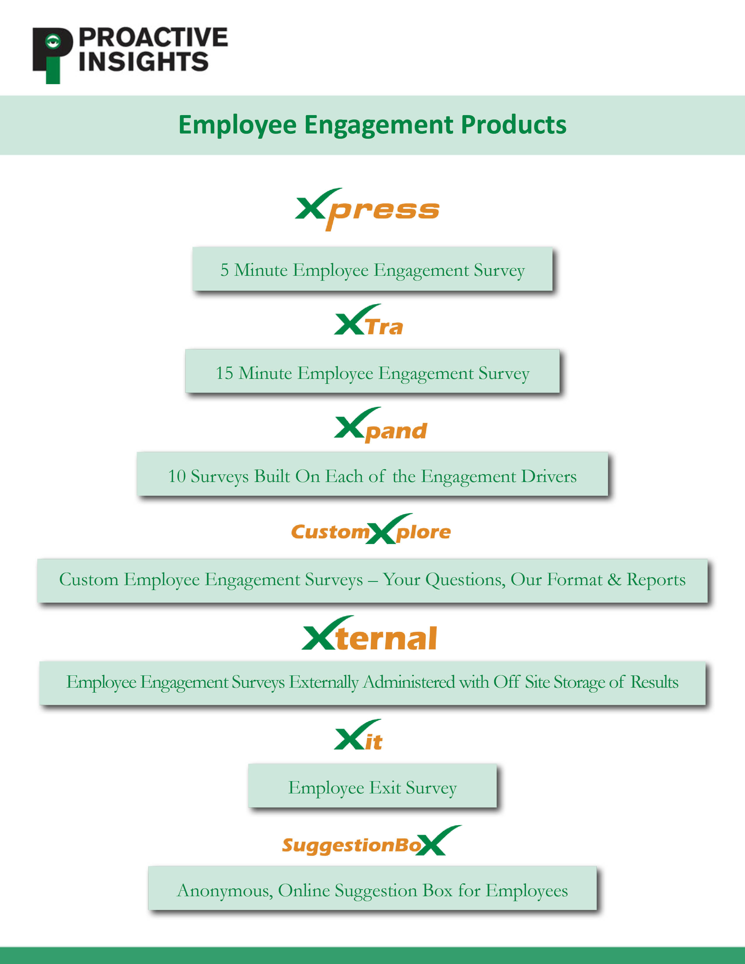 Employee Engagement Products