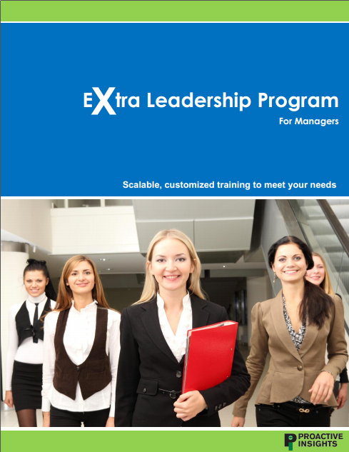 Extra Leadership Program For Managers