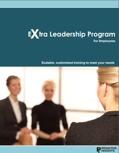 Extra Leadership-Special Training